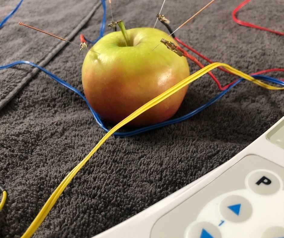 elektroacupunctuur kleur